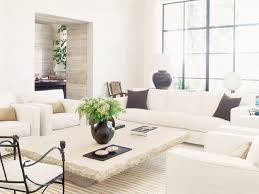 white stone coffee table modern rustic california home cococozy living room white couch stone