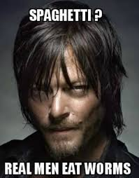 Daryl Dixon Memes - the walking dead spaghetti tuesday memes of the walking dead