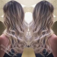 foil highlights for brown hair foil highlights balayage blonde combo vivace salon