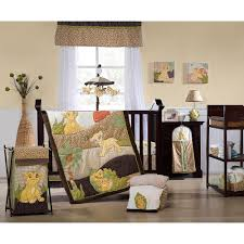 kids line lion king 7 piece crib bedding set kids line babies