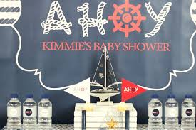nautical themed baby shower ahoy nautical baby shower baby shower ideas themes