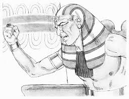 pharaoh coloring pages old testament coloring pages with pharaoh