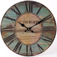 Shabby Chic Wall Clocks by Best 25 Large Wooden Clock Ideas Only On Pinterest Wall Clocks