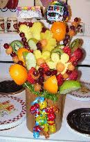 how to make edible fruit arrangement edible creations how to fruit bouquets and edible vegetable