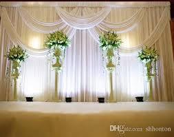 wedding backdrop tulle 3 6m wedding party stage celebration background satin curtain