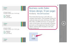 Template For Business Cards 10 Per Sheet by How To Business Cards In Microsoft Word Techwalla Com