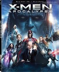 film blu thailand x men apocalypse 3d 2d lenticular blu ray slipcover thailand