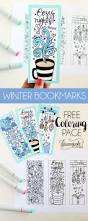 free printable coloring page with bookmarks coloring