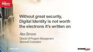 cis 2015 without great security digital identity is not worth the el u2026