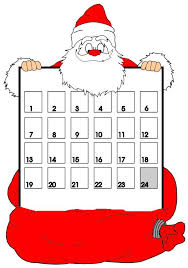 christmas countdown calendar christmas countdown calendar printable blank calendar design 2018