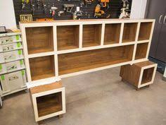 Storage Headboard King Storage Ideas Around The Headboard With Custom Shelves Ideas For