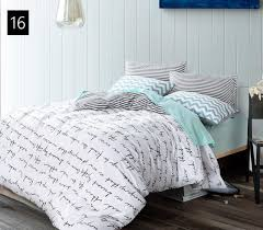quality cotton duvet covers setsimple cross bedding setdouble with