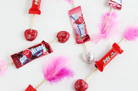 candy valentines s day candy arrows