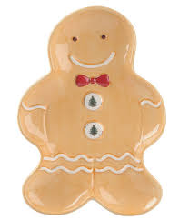 spode christmas tree gingerbread man tray dillards