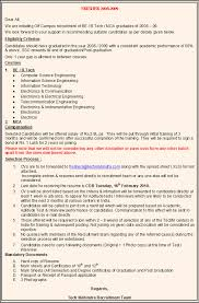format of cb latest resume format for it freshers