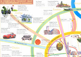 Map Of Shanghai A Complete Tourist Map For Sightseeing In Shanghai Guide To