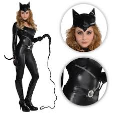 halloween costume stores online catwoman catsuit dark fancy dress superhero cat woman halloween