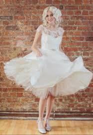 50 S Wedding Dresses Dress Short Dress Wedding Dress 50s Style Puffy Lace Dress