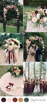 wedding colors the stunning colors of white burgundy wedding 160 best fall weddings images on pinterest fall wedding autumn