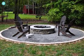 Granite Fire Pit by 30 Spectacular Backyard Diy Fire Pit Seating Ideas