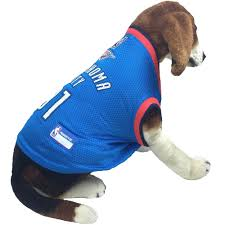 oklahoma city thunder dog jersey small healthypets