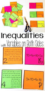 30 best solving u0026 graphing inequalities images on pinterest