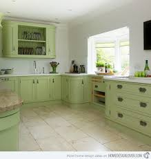 Images Painted Kitchen Cabinets 16 Nicely Painted Kitchen Cabinets Home Design Lover