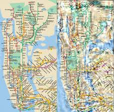 New York Map Districts by Transit Maps New York City Mta Subway Map Jigsaw Puzzle Can