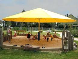 Large Patio Umbrellas Commercial Pool Umbrellas Patio Yellow Octagon Modern Fabric