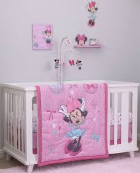 Baby Disney Crib Bedding by Disney Minnie Mouse 4 Piece Crib Bedding Set All About The Bows