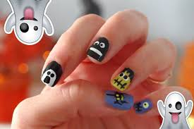 diy paznokcie na halloween nails manicure theammisu youtube