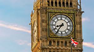 le de bureau style anglais big ben at the houses of parliament attraction