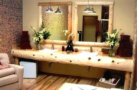 reclaimed wood bathroom mirror reclaimed wood bathroom rustic bathroom by frank interiors holabot co