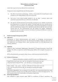 Resumes For It Jobs by National Mission On Food Processing Guidelines 2013 For Finance Su U2026
