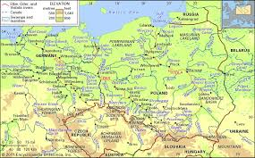 worlds rivers map vistula river river poland britannica