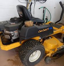 cub cadet riding lawnmower rzt50 ebth