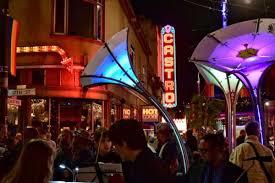 Bay Bridge Light Show Where To Watch Harvey U0027s Halo Light Show In San Francisco San