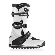 white motocross boots 2017 alpinestars tech t trials mx motocross boots white black
