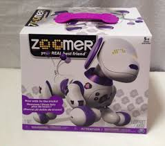 zoomer bentley zoomer robotic dog toy electronic interactive robot purple pink