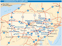 penn state park map print cus maps penn state department of geography