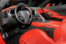 corvette stingray 2014 interior unveiled 2014 chevrolet corvette interior