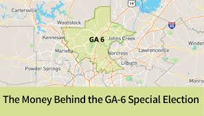 Kennesaw State Map The Money Behind The Ga 6 Special Election Cmdi