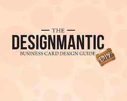 designmantic affiliate a business card guide designmantic the design shop