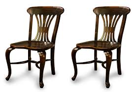Walnut Dining Room Chairs Black Country Chairs Solid Walnut Ebony Finish Kitchen Dining