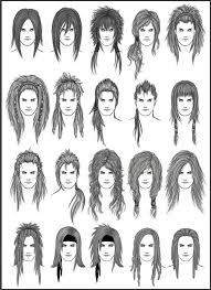 26 best hair style reference images on pinterest character