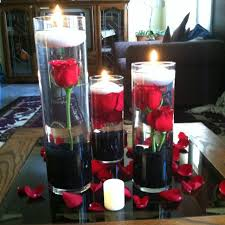 Centerpieces With Candles For Wedding Receptions by Best 25 Black Centerpieces Ideas On Pinterest Black Wedding