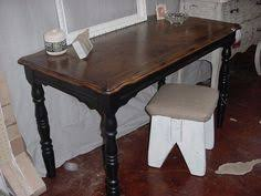 stained table top painted legs ebony stained table top old white painted legs chelsea s garage