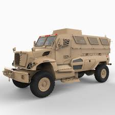 mrap mrap mine resistant ambush protected vehicle 3d model cgstudio