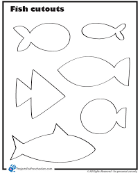 fashionable inspiration fish coloring pages preschoolers