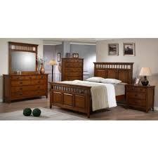 Picket House Duval Piece Distressed Mahogany Bedroom Set - Lorrand 5 piece cherry finish bedroom set
